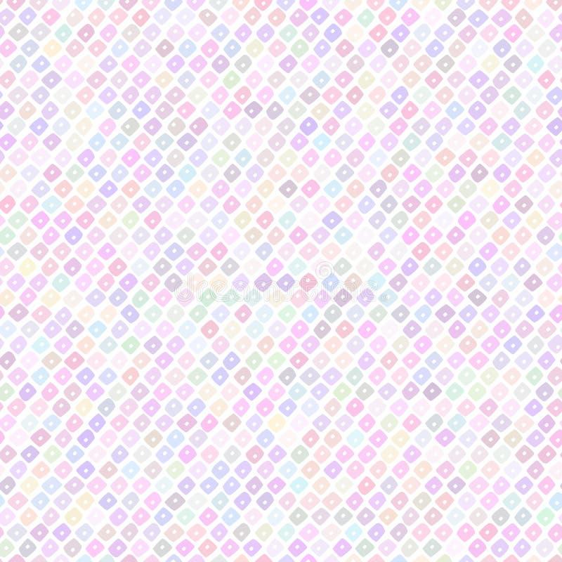 Contexto al azar de las gotas Modelo pálido abstracto Vagos inconsútiles del vector ilustración del vector