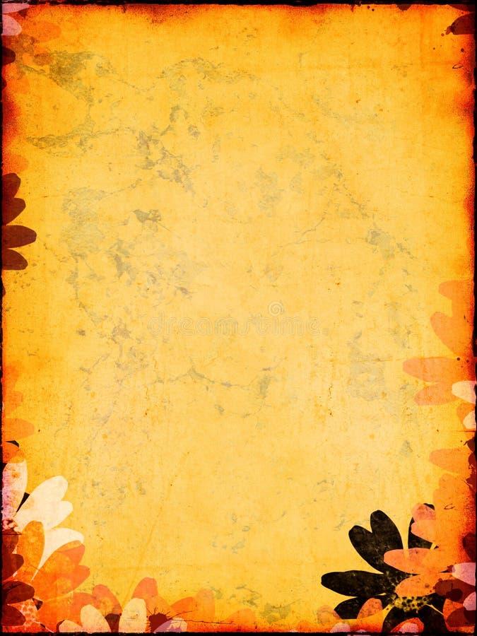 Contexto artsy dourado imagens de stock royalty free