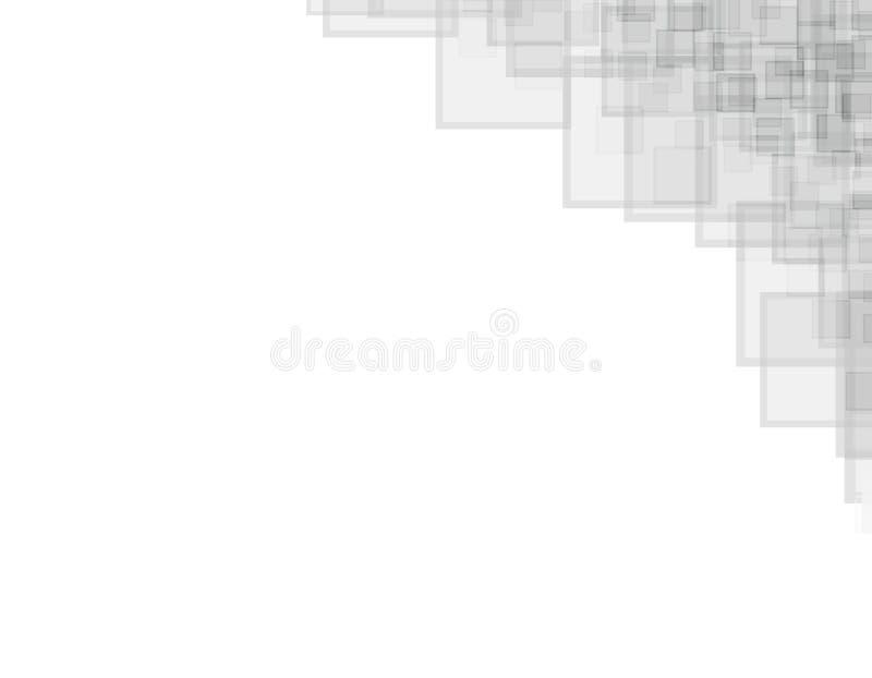 Contexto blanco con el modelo gris libre illustration