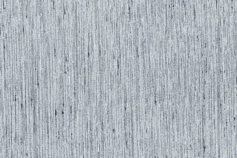 Contexto blanco y negro o gris claro del primer de los colores de la tela de la muestra de la textura Línea de tira gris clara di imagen de archivo libre de regalías