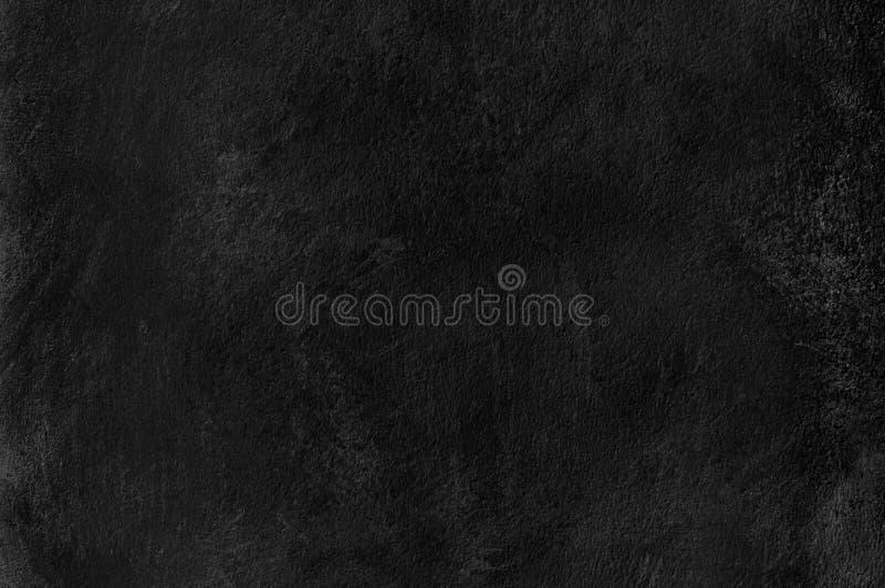 Contexto concreto negro o gris oscuro del grunge del panel de pared Pared negra sucia, del polvo concreta, textura del contexto d fotos de archivo