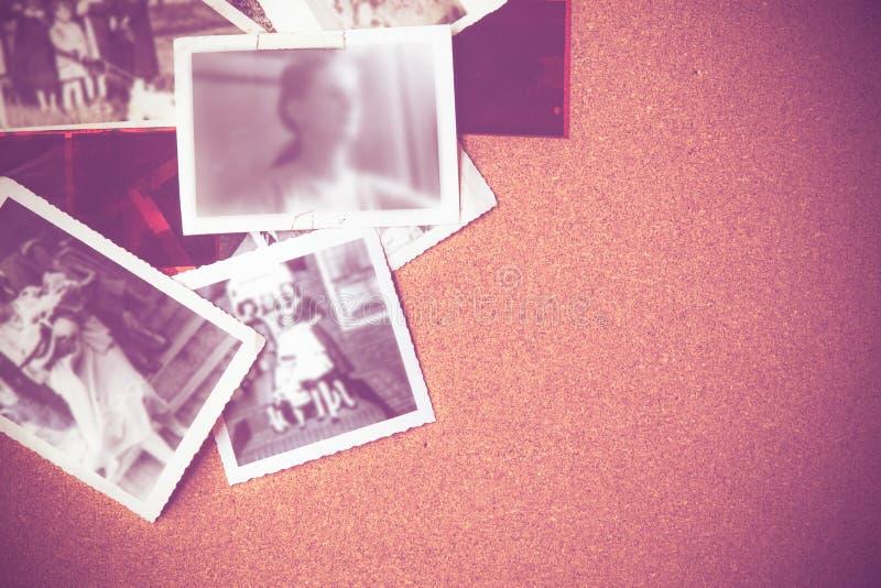 Contexto das fotos do vintage fotos de stock royalty free
