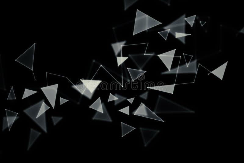 Contexto de cristal quebrado ilustración del vector