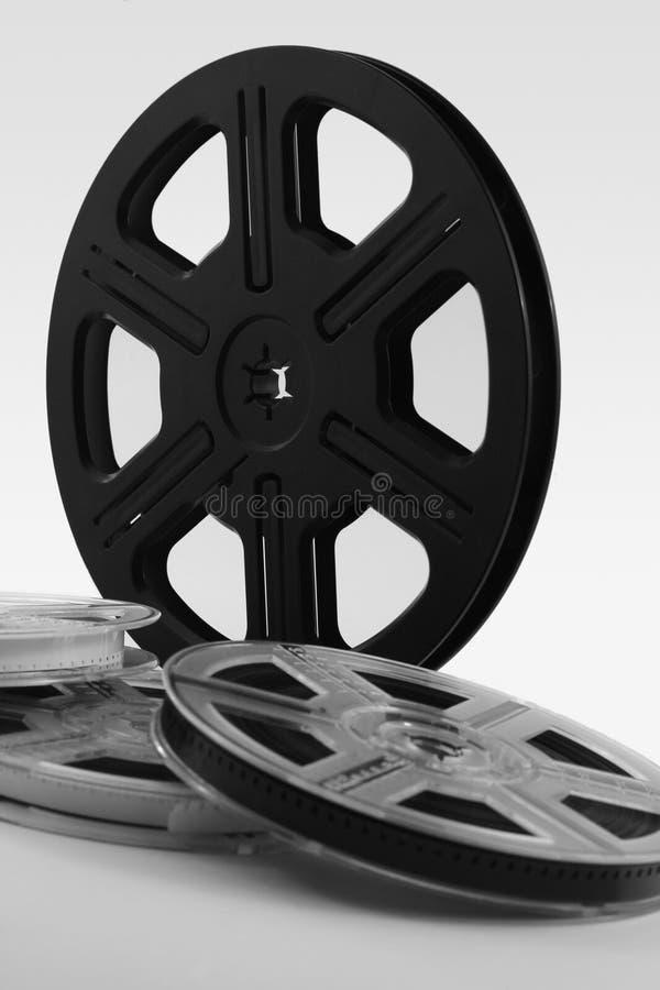Contexto de los carretes de película fotos de archivo libres de regalías