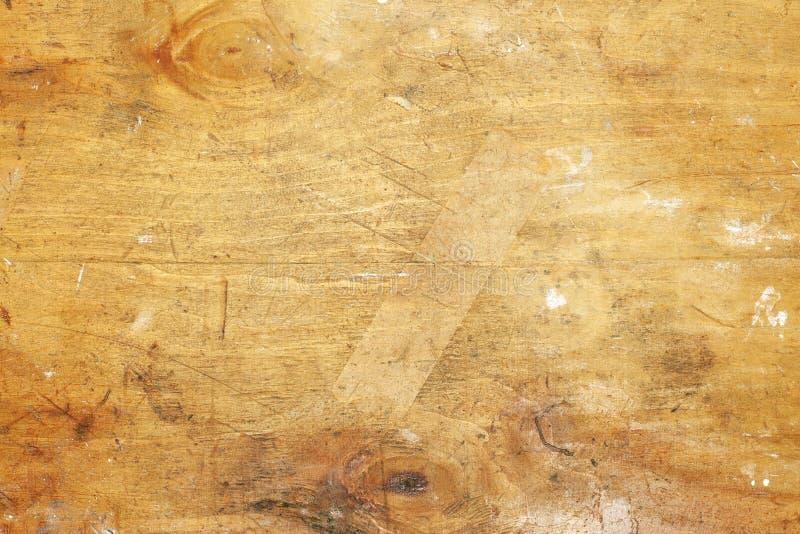 Contexto de madeira velho desarrumado fotos de stock royalty free