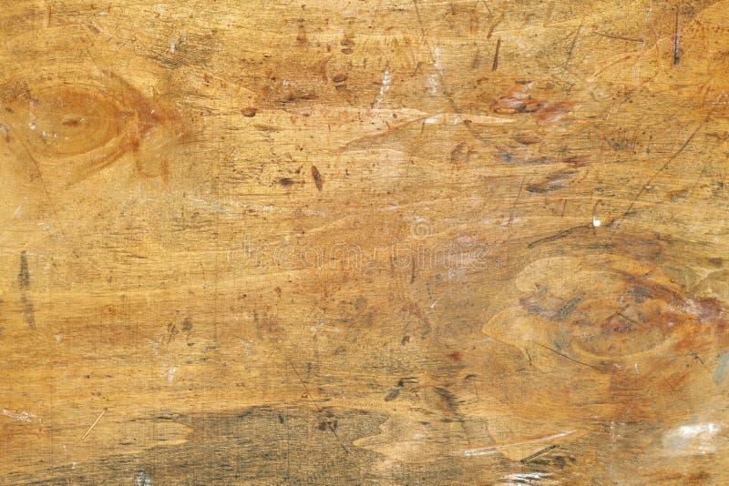 Contexto de madeira velho desarrumado fotografia de stock royalty free