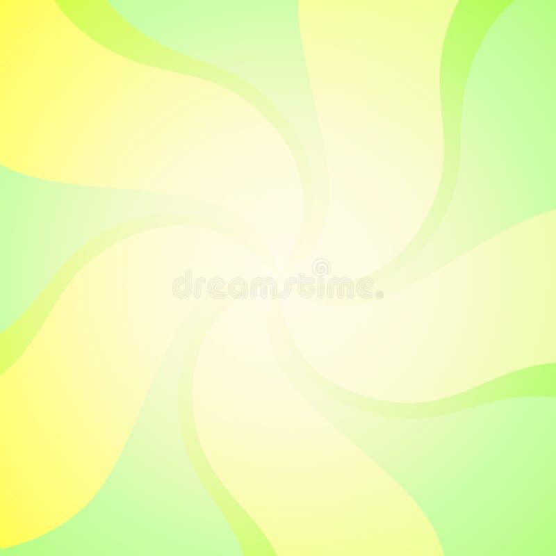 Contexto de roda do vetor verde ilustração do vetor