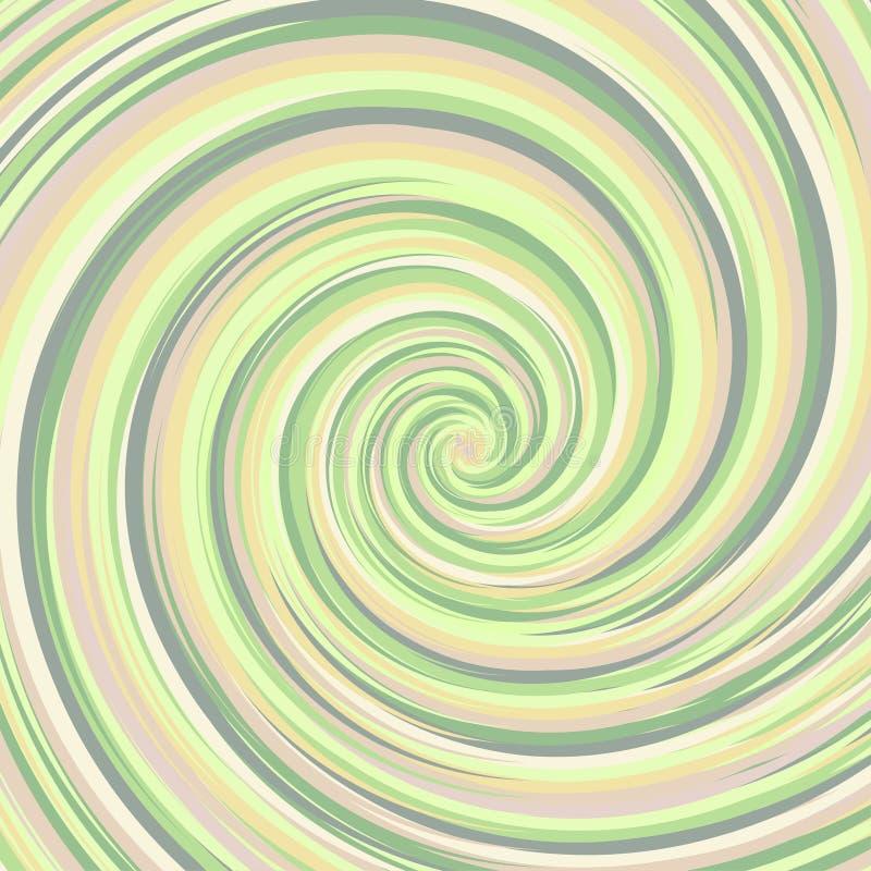Contexto de roda Superfície espiral com espaço para o texto ilustração royalty free
