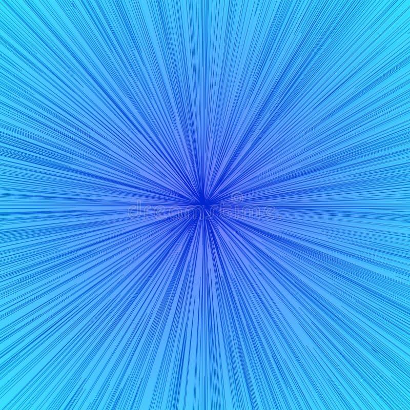Contexto del resplandor solar del vector Color moderno del backgound geométrico del espacio de la velocidad stock de ilustración