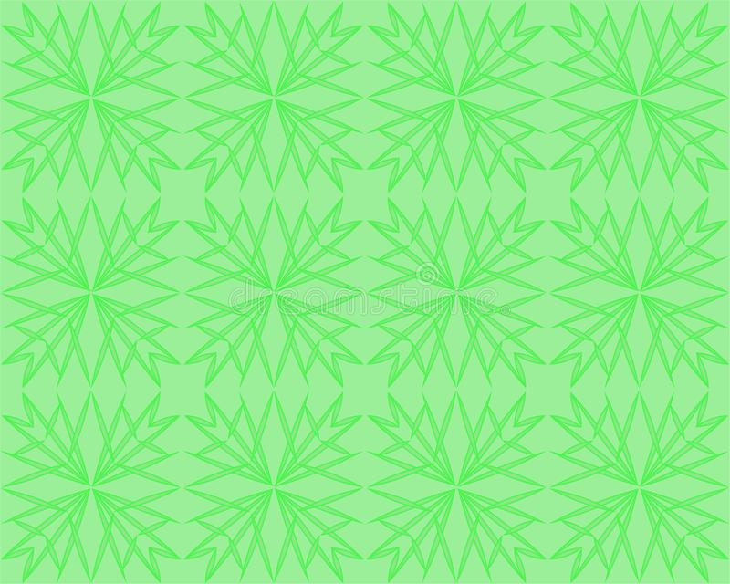 Contexto do inclinação da natureza com luz solar brilhante Fundo borrado verde abstrato Conceito para seu projeto gráfico, bandei ilustração stock