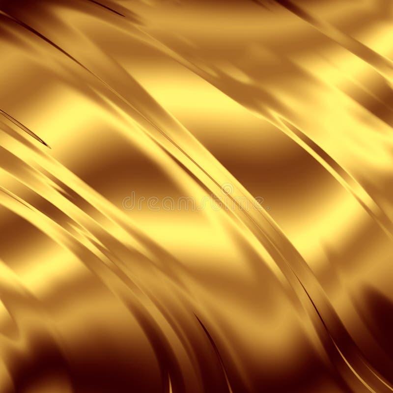 Contexto do ouro ilustração stock