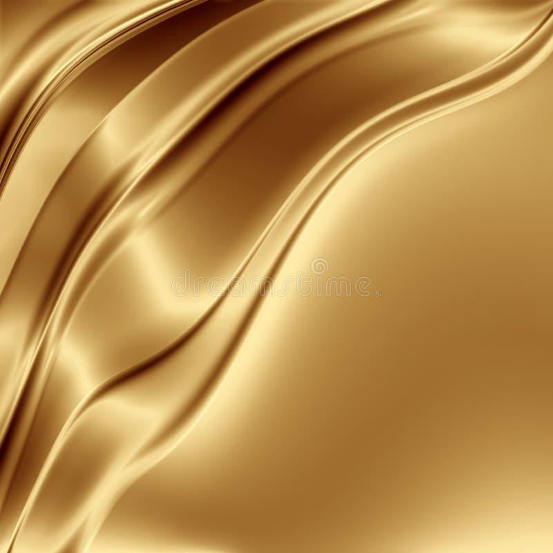 Contexto do ouro ilustração do vetor