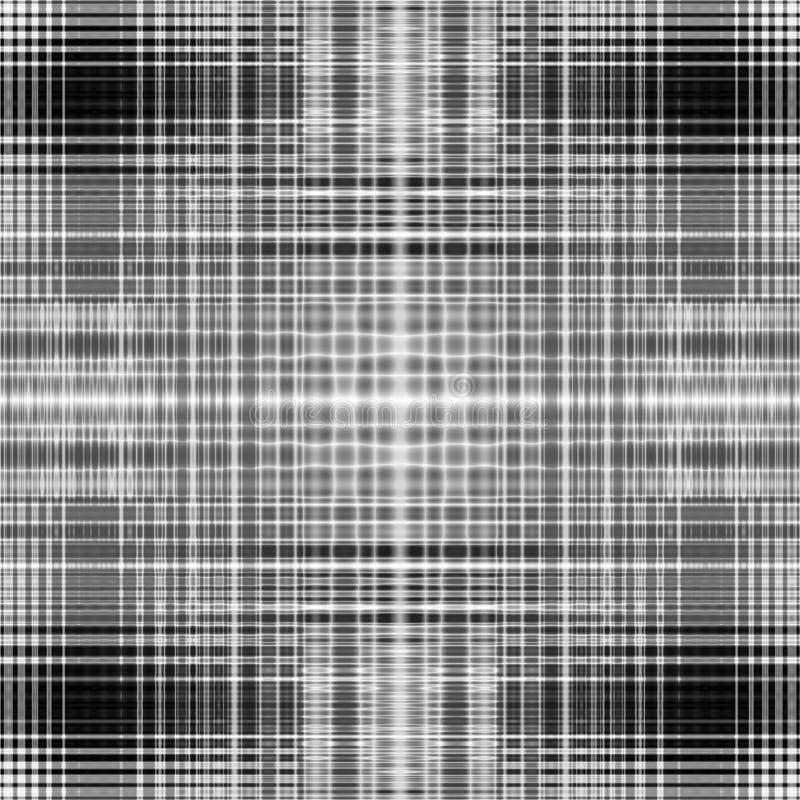 Contexto gráfico monocromático de papel abstrato cinzento ilustração do vetor