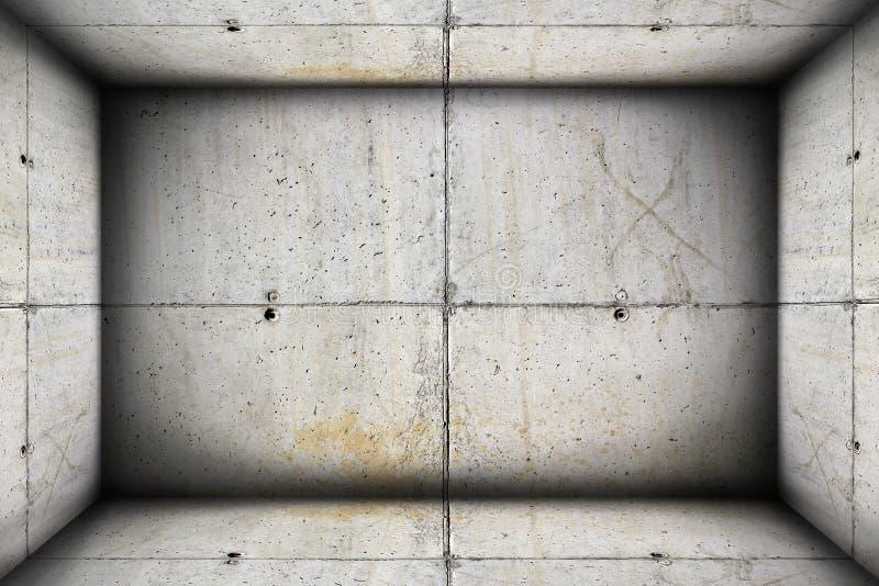 Contexto interior industrial concreto foto de stock