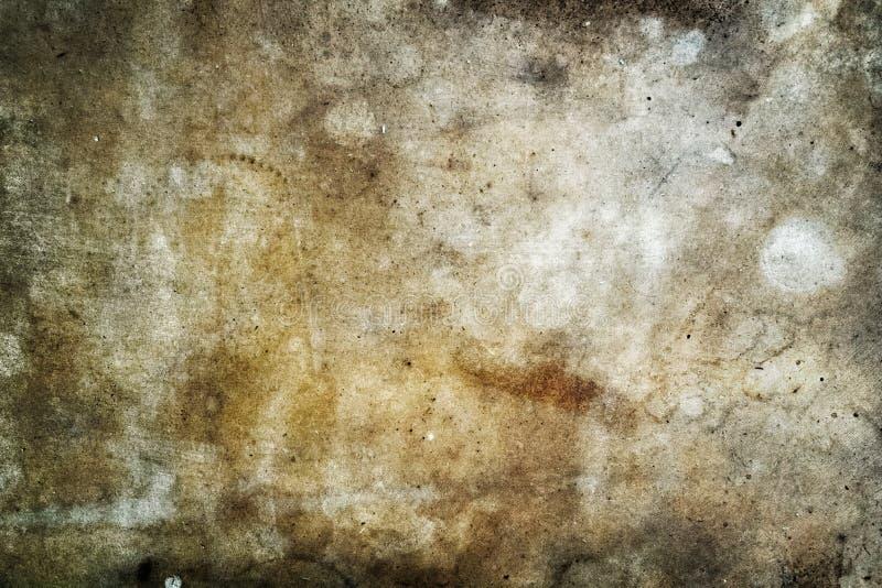 Contexto marrón blanco de la textura del grunge foto de archivo