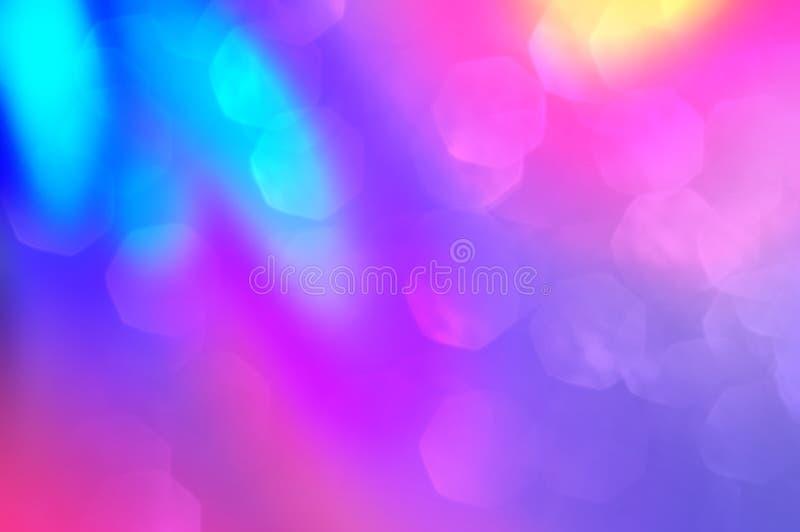 Contexto suave de la imagen de la foto Extracto oscuro, ultravioleta, púrpura, rosado del color con el fondo ligero Elegancia col fotografía de archivo