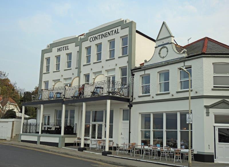Continentaal hotel royalty-vrije stock foto