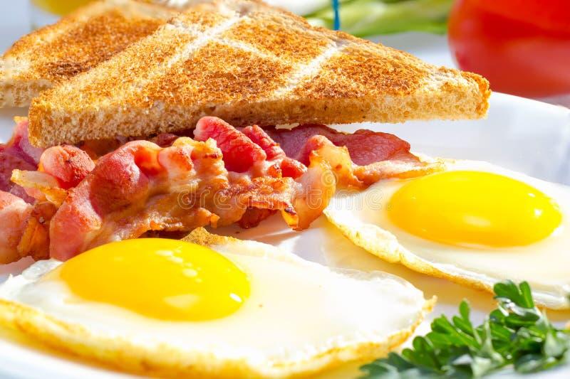 Continentaal ontbijt. royalty-vrije stock afbeelding