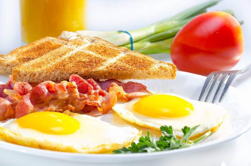 Continentaal ontbijt. royalty-vrije stock foto's