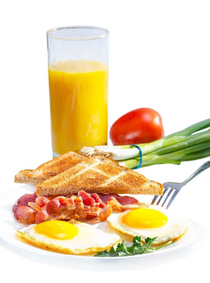 Continentaal ontbijt. stock foto's