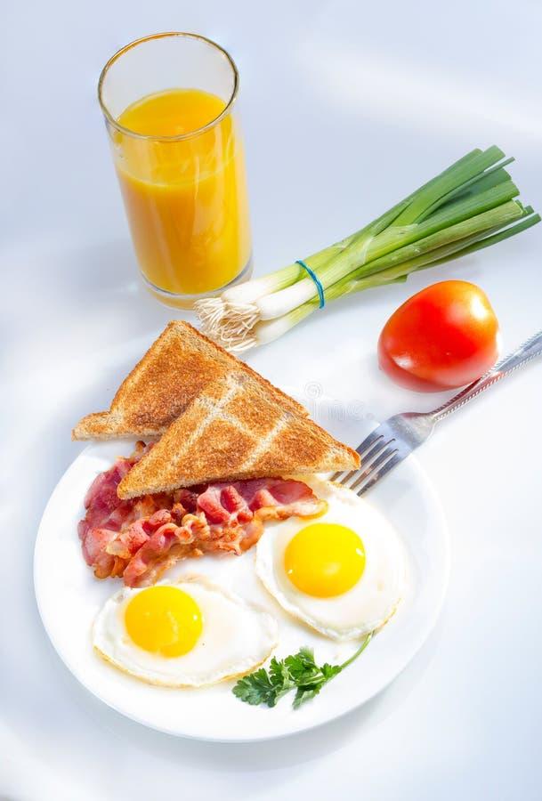 Continentaal ontbijt. royalty-vrije stock fotografie