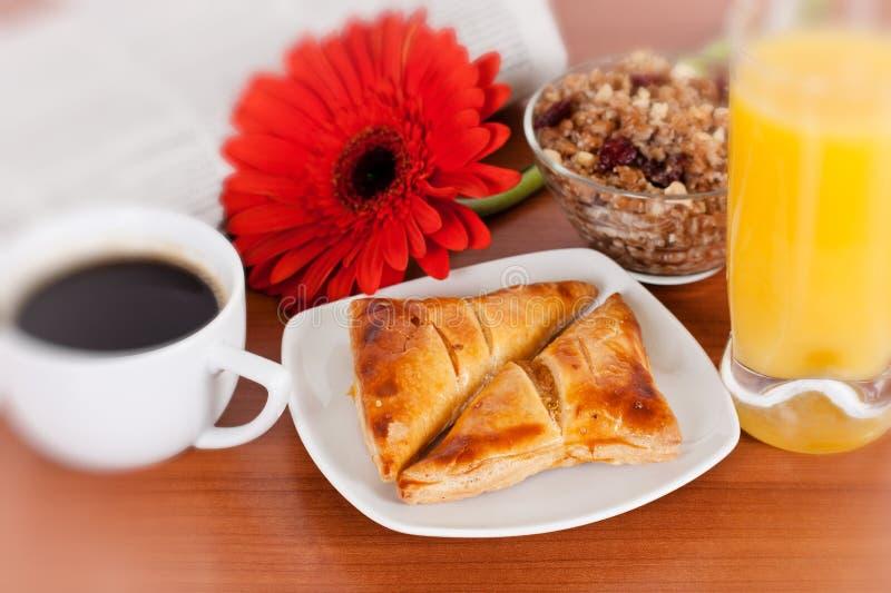 Download Continental breakfast stock image. Image of dessert, cake - 18242277