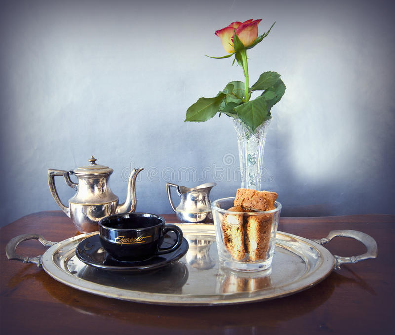 Download Continental Breakfast For One Stock Image - Image: 36094085