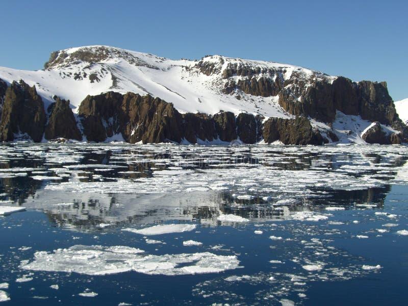 Continente Antárctico Fotos de Stock
