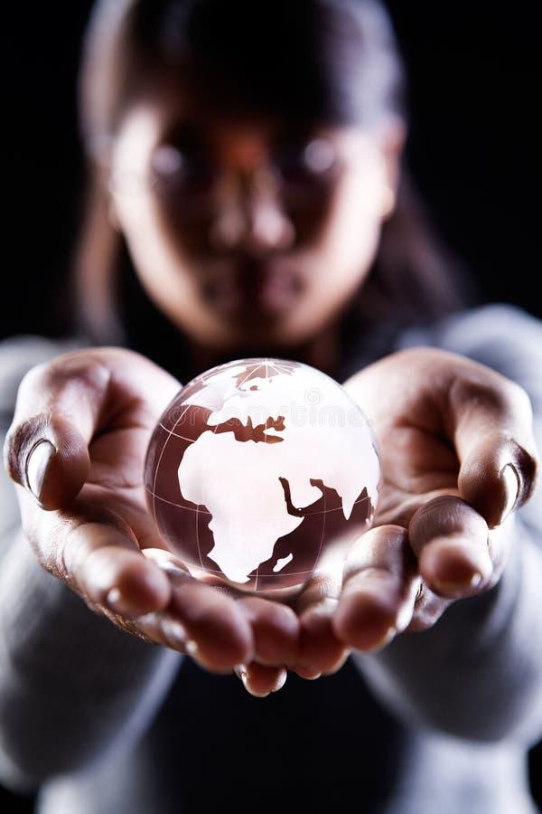 Continente de África e de Europa imagens de stock royalty free