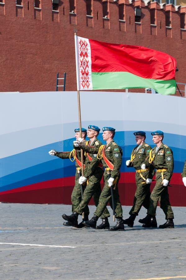 Contingente dalla Repubblica Bielorussa immagine stock libera da diritti