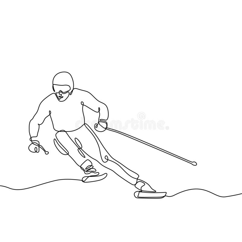 De Dessin Ski Stock Illustrations Vecteurs Clipart 10 933 Stock Illustrations
