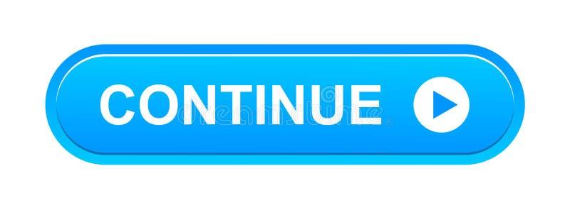 Continue kn?ppas royaltyfri illustrationer