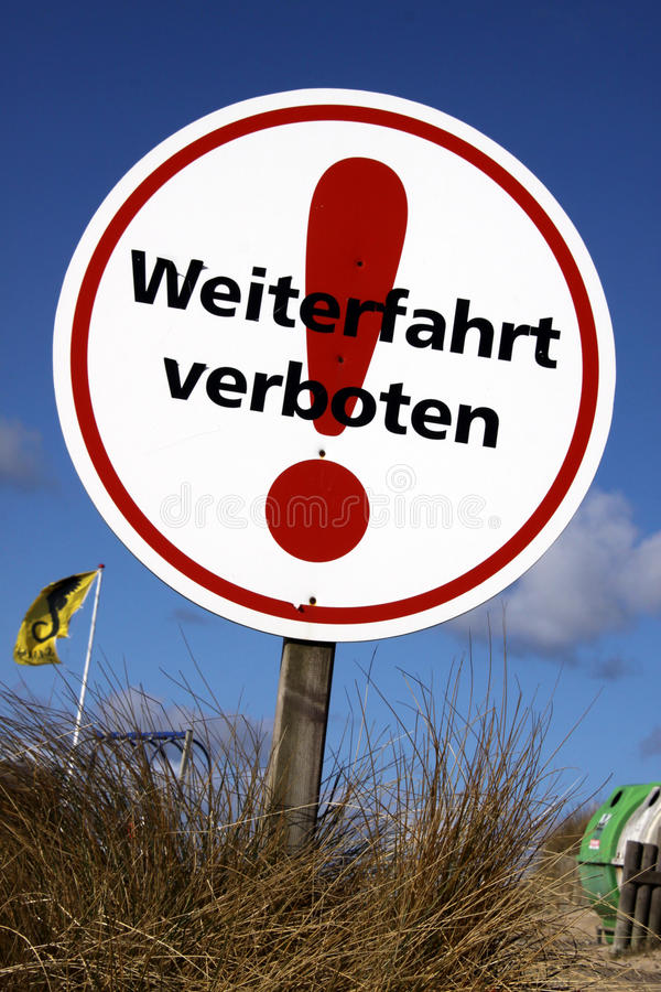 Download Continue prohibited sign stock image. Image of exclamation - 22411953