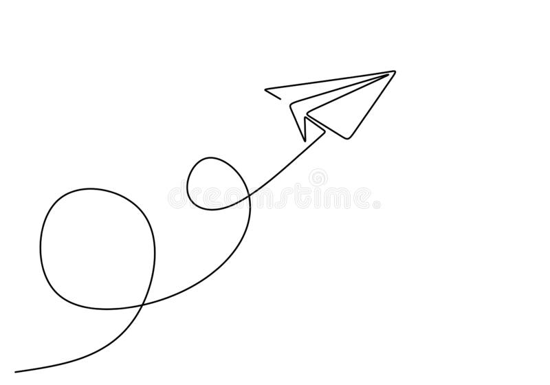 Drawing Paper Airplane Stock Illustrations 3 360 Drawing Paper