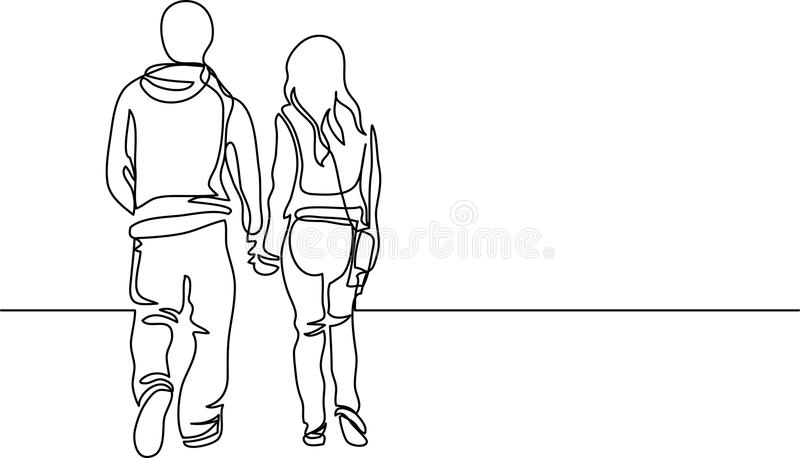how to draw people walking