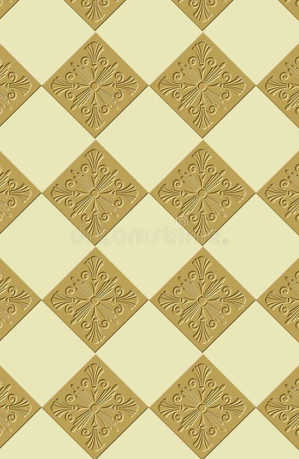 Download Continuous wallpaper tiles stock illustration. Image of antique - 2160272