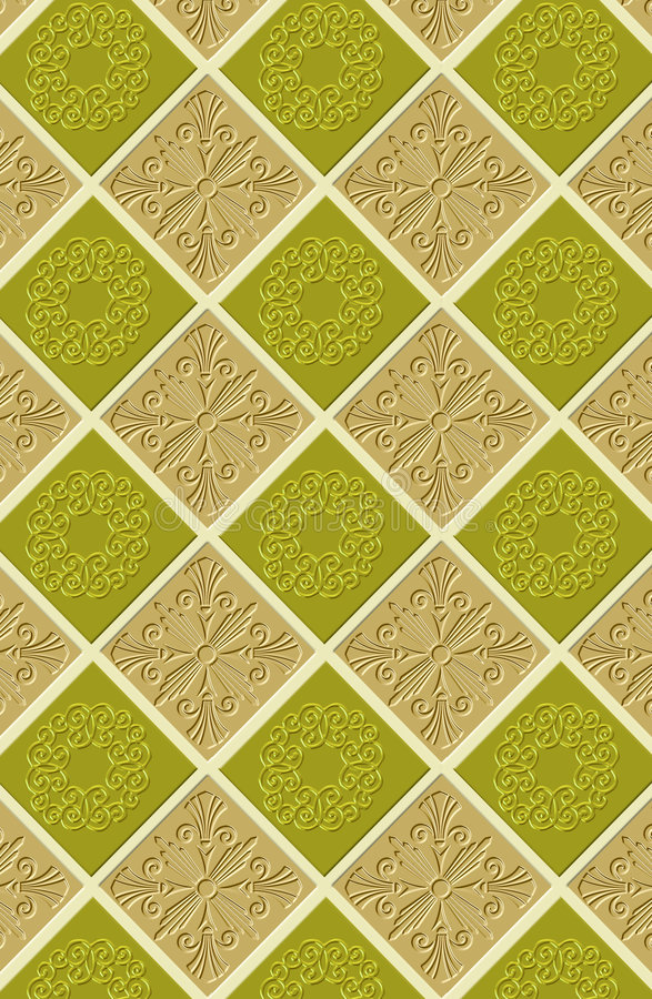 Download Continuous wallpaper tiles stock illustration. Image of class - 2162505