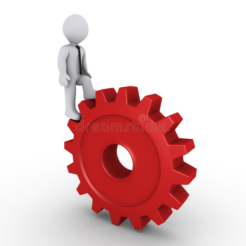Download Continuous work stock illustration. Image of challenge - 23982236