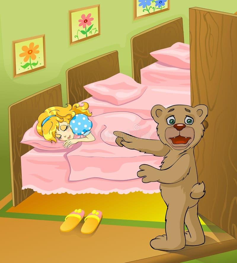 Conto de fadas 07 ilustração royalty free