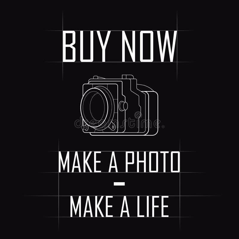Contorni l'immagine della macchina fotografica, offerta per l'acquisto royalty illustrazione gratis