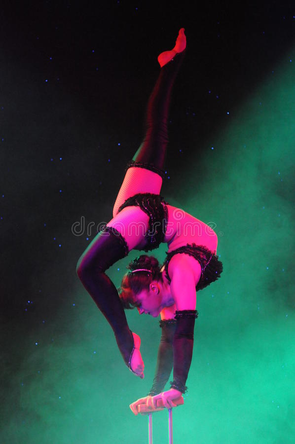 Contortionist obrazy royalty free