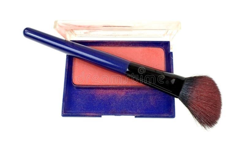 Contour Blush Brush With Powder stock photo