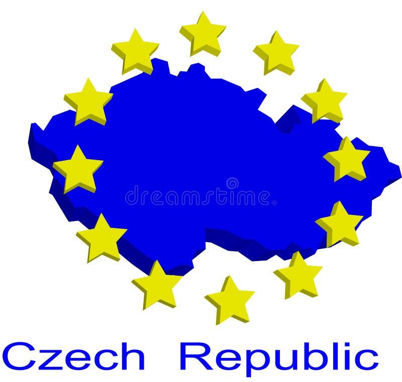 Download Contour Map Of Czech Republic Stock Vector - Image: 4904335