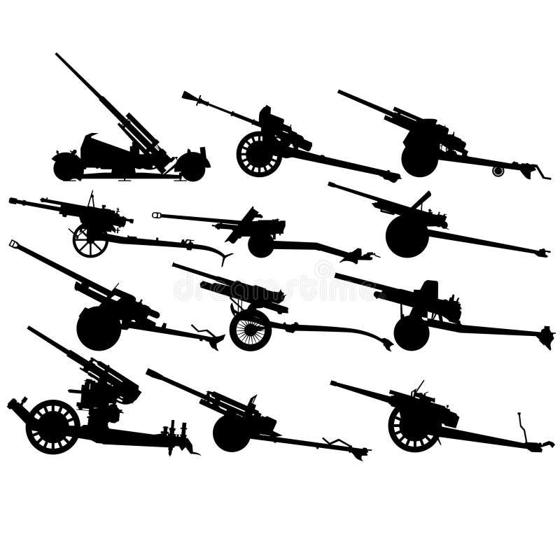 Download Antitank Artillery 2nd World War-1 Stock Vector - Image: 30231424