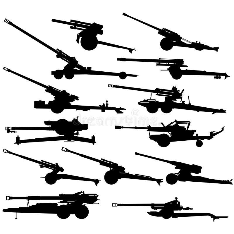 Modern Artillery-1 Stock Images