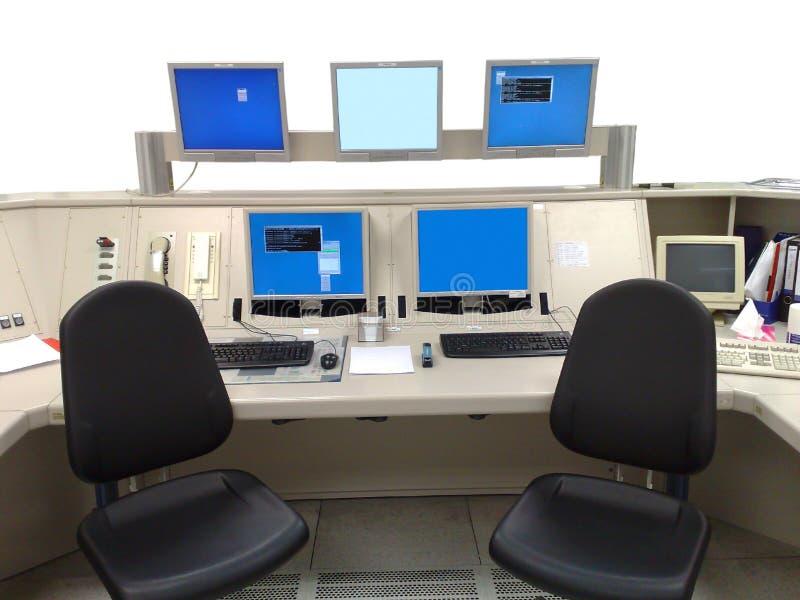 contrôle central photographie stock
