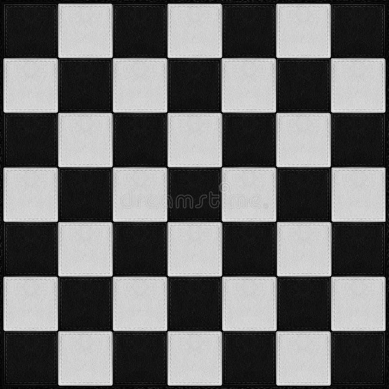 Contrôle noir et blanc illustration libre de droits