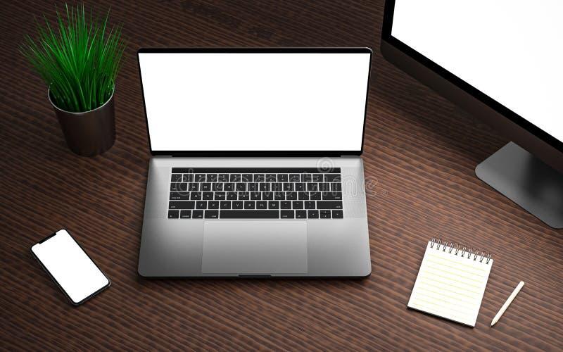 Contrôleur à distance de contact de dispositif numérique de media player de smartphone d'ordinateur portable photos libres de droits