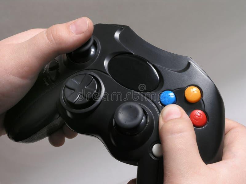 Contrôleur 2 de jeu vidéo image stock
