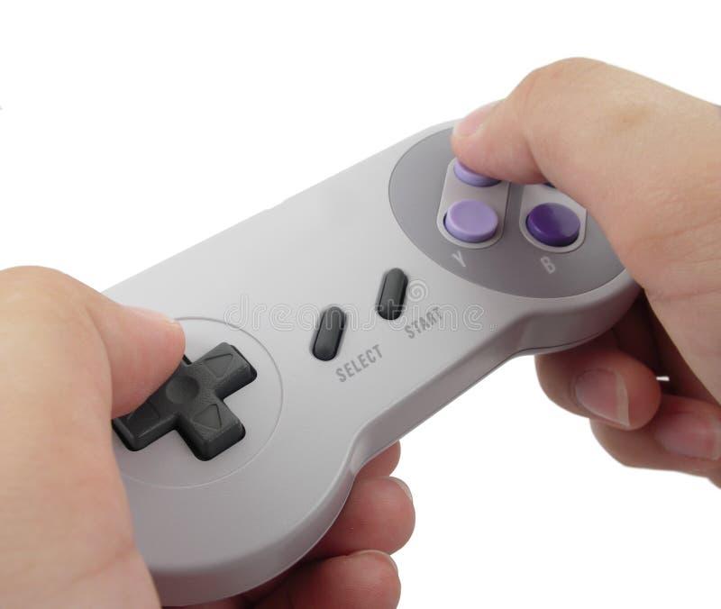 Contrôleur 2 de jeu vidéo photos libres de droits